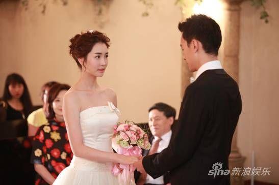 《爱的蜜方》收官上演西式唯美婚礼图片