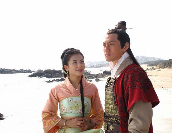 刘涛、严宽主演的《妈祖》正在热播
