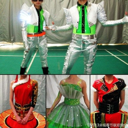 央视春晚今通过官方微博抢先发布部分节目演出服装