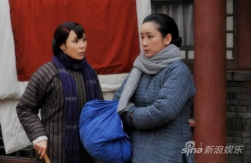 《全家福》中岳秀清与秦海璐对手戏