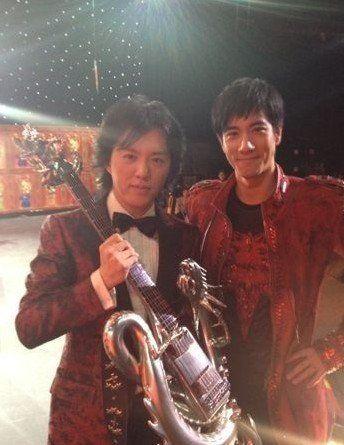 李云迪和王力宏今年同场不同台
