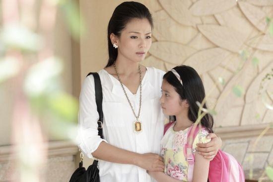 刘涛和剧中女儿