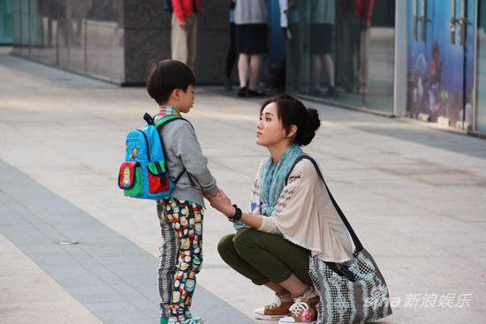 江铠同《爱闪亮》与剧中儿子对手戏