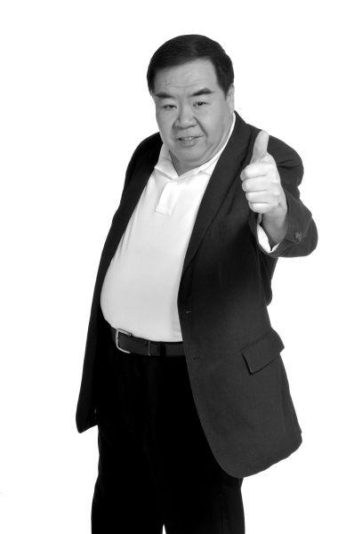 郑则仕坦言,自己就是一个商业演员。许青红供图