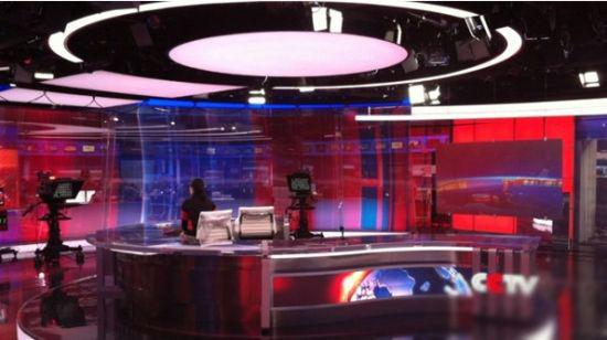 外媒曝光《新闻联播》新演播室