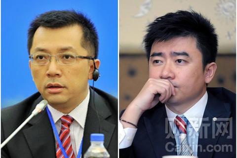 李勇(左)和芮成钢
