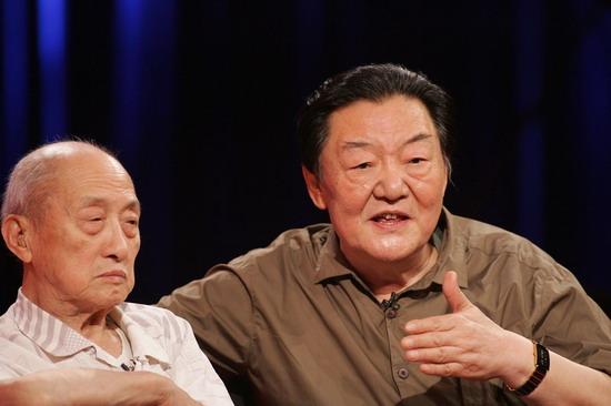 黄宗江88岁再回首快乐老人捧出幸福宝典(组图)