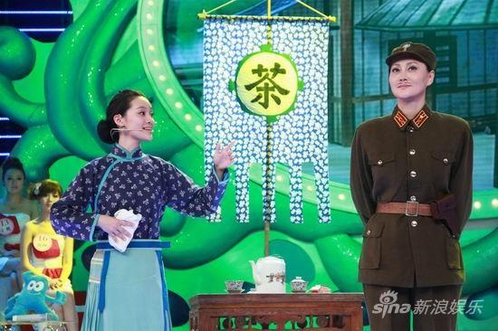 """《华人大综艺》播出明星""""母子母女档""""(组图)"""