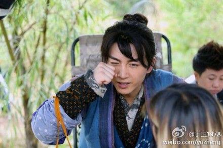 陈晓在于正版《神雕侠侣》中饰演杨过