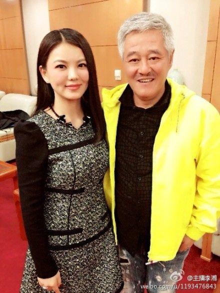 李湘微博晒与赵本山合影