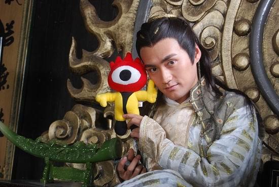 图文:《射雕》主演和小浪人--看似温柔的杨康