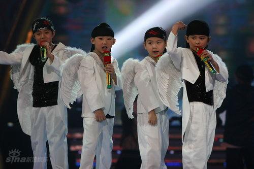 图文:湖南卫视元宵喜乐会--小朋友模仿秀