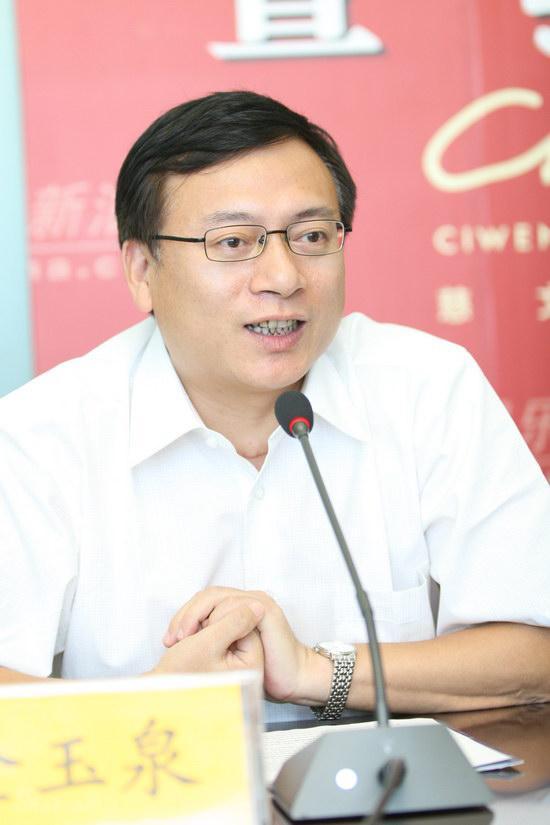 图文:浙江卫视管理中心主任金玉泉