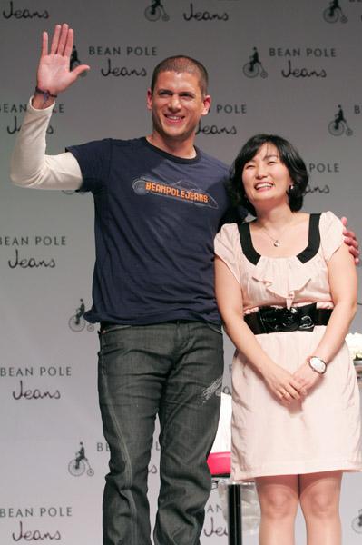 组图:2007年温特沃什-米勒出访韩国