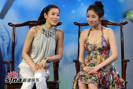 图文:《七公主》长沙宣传--李泰兰崔贞媛