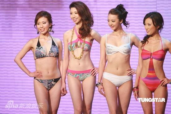 图文:2009香港小姐总决赛--四美争艳