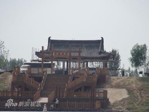 图文:水浒战船--码头