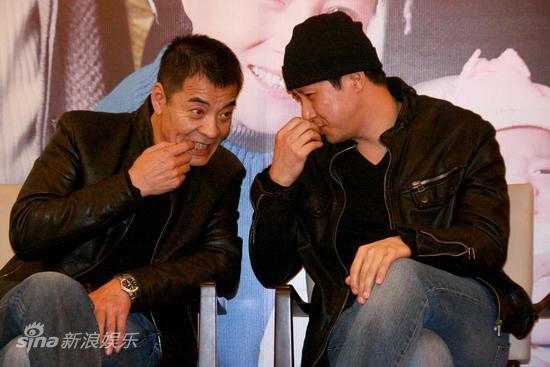 图文:《牵挂》杀青-刘威和张国强