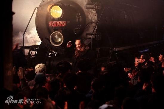毛泽东视察哈尔滨车辆厂