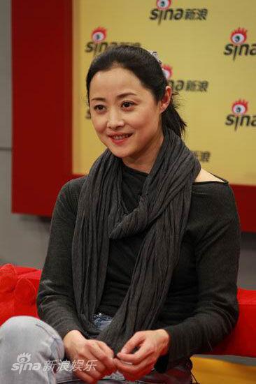 刘蓓随性笑容