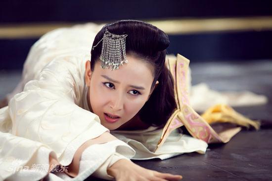 """图文:《王的女人》剧照-""""青莲""""胡静"""