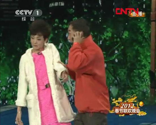 央视春晚 牛莉和冯巩搭档