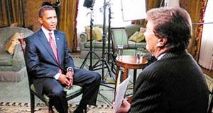 美国一周收视:《60分钟》采访奥巴马登顶(图)
