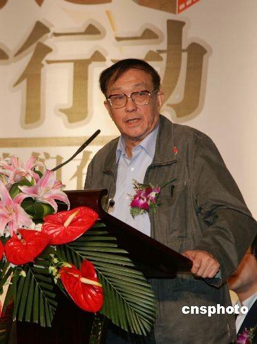 中国著名导演谢晋在家乡浙江上虞逝世(图)