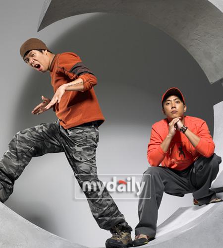 MC梦和殷志源为了给《两天一夜》队增加力量而特别准备了冬季工作服