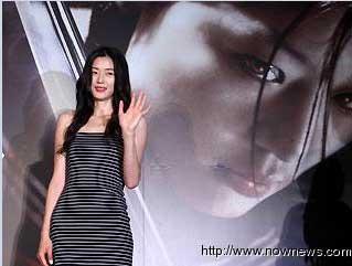全智贤宣传新片《血战:最后的吸血鬼》
