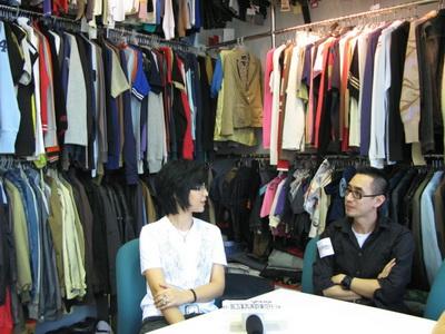 周笔畅香港首做VJ主持对话香港知名设计师(图)