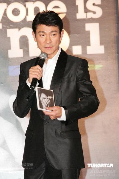 刘德华昨日加盟东亚唱片震撼黎明一哥位置(图)