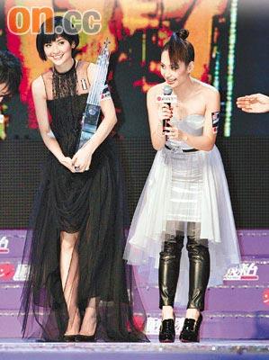 新城劲爆容祖儿夺4奖陈奕迅李克勤5奖称王(图)