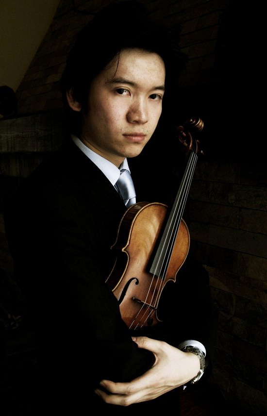 CCTV钢琴小提琴大赛决赛选手:刘霄