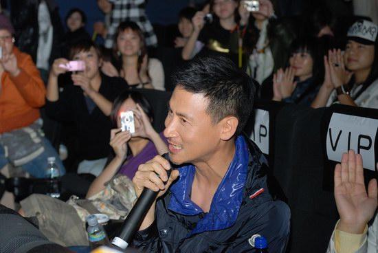 张学友台湾个唱专辑特映会首次进影院看演唱会