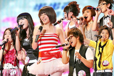 2009快乐女声兰州唱区8强选手名单
