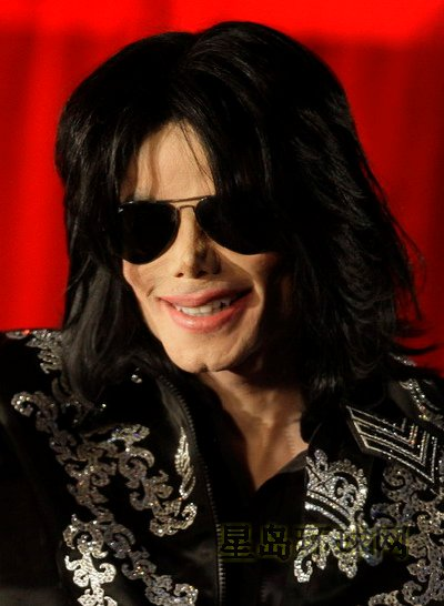 网友悼念迈克尔-杰克逊:天堂里也有你的舞台