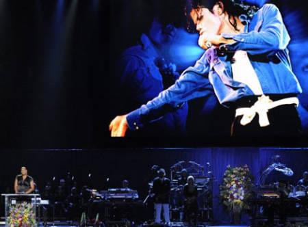 《卫报》:迈克尔-杰克逊最后的演出(图)