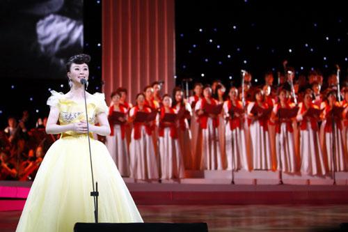 全运会点火仪式祖海戴玉强共唱《和谐中国》