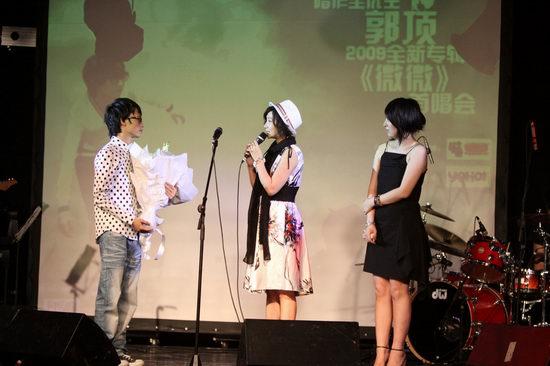 郭顶首唱会靠作品说话炮轰台湾伪创作歌手(图)
