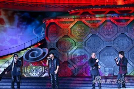 《大地飞歌2009》激情上演明星璀璨耀南宁(图)