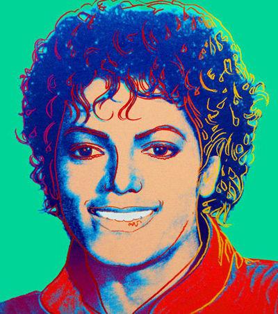 已故流行音乐巨星杰克逊肖像画拍得81万美元