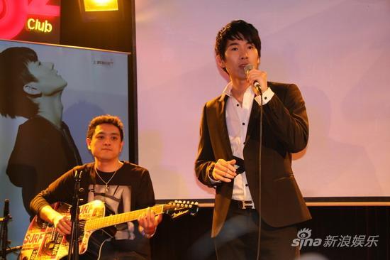 马海生首张专辑《谢谢你的爱2009》上海发片