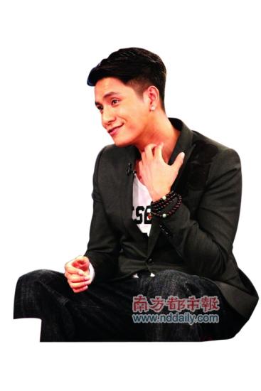 """陈坤被逼出一句""""我当然是他的真爸爸!""""(图)"""