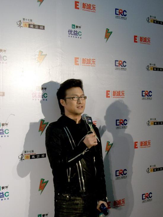 东方风云榜汪峰两度获奖4月10日北京开唱