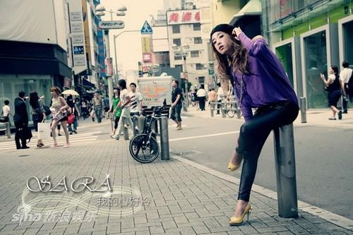 SARA《我的心好冷》串红 演绎都市熟女风(图