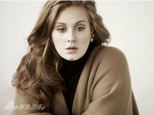 资料图片:英国女歌手阿黛尔写真 1