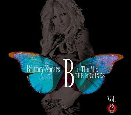 布兰妮最新混音唱片封面