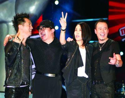《中国好声音》打包售价8千万评委费2千万