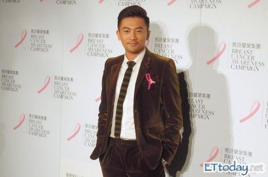 苏有朋出席乳癌防治公益活动